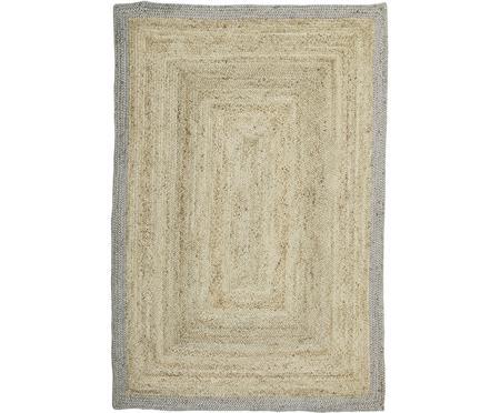 Ręcznie tkany dywan z juty  Shanta