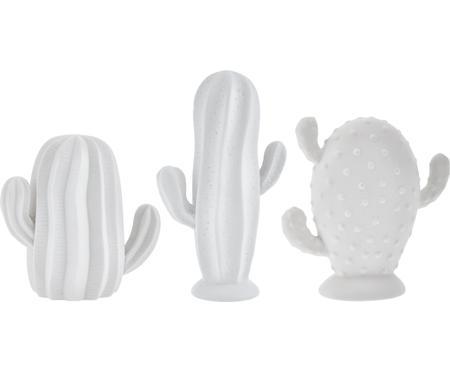 Komplet kaktusów dekoracyjnych Dina, 3 elem.