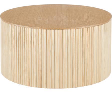 Drewniany stolik kawowy z miejscem do przechowywania Nele