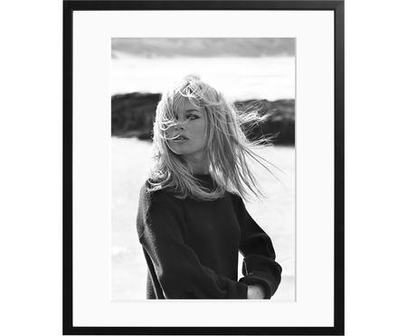 Oprawiona fotografia Bardot Poses