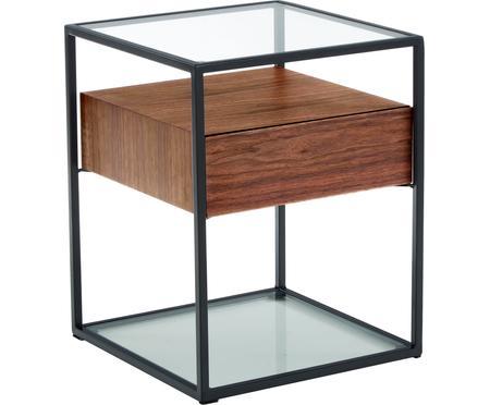 Stolik pomocniczy z szufladą Helix