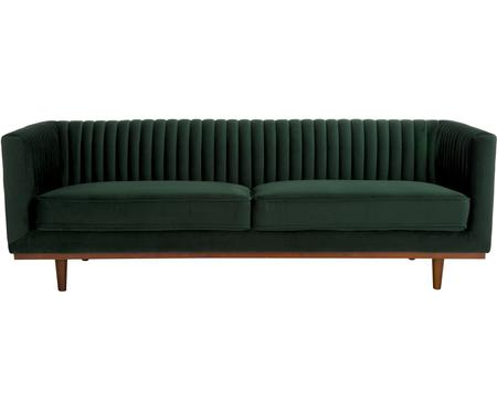 Sofa z aksamitu Dante (3-osobowa)