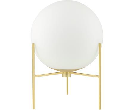 Mała lampa stołowa ze szkła opalowego Alton