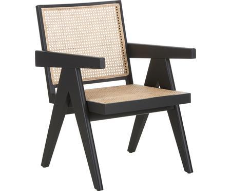 Fotel wypoczynkowy z plecionką wiedeńską Sissi