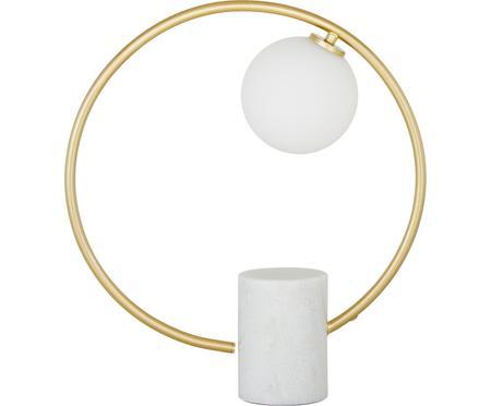Lampa stołowa z marmurową podstawą Soho