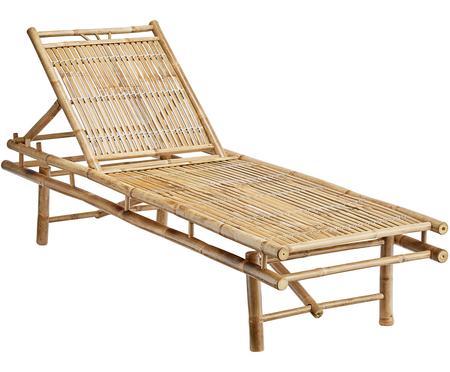 Leżak ogrodowy z bambusa Mandisa