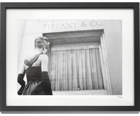 Oprawiony druk cyfrowy Hepburn Breakfast at Tiffany's