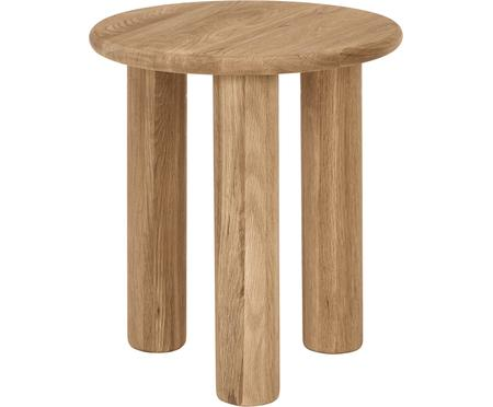 Stolik pomocniczy z drewna dębowego Didi