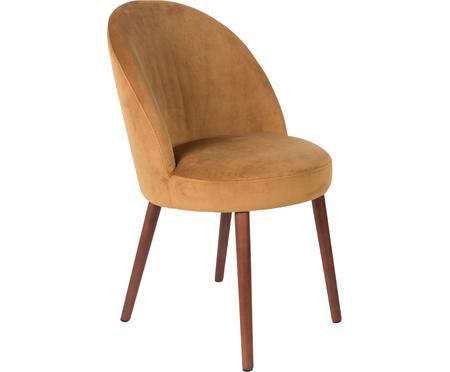 Krzesło tapicerowane z aksamitu Barbara