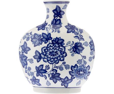Wazon z ceramiki Blue Flowers