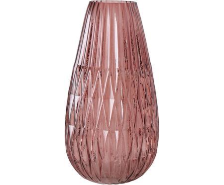 Duży wazon ze szkła Rubina