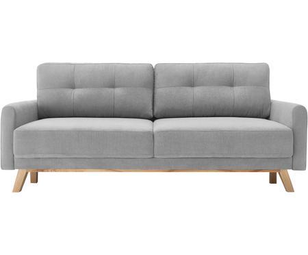 Sofa z aksamitu z funkcją spania i schowkiem Balio (3-osobowa)