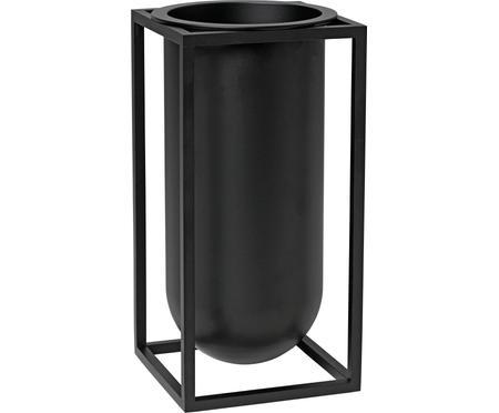 Ręcznie wykonany wazon z aluminium Kubus