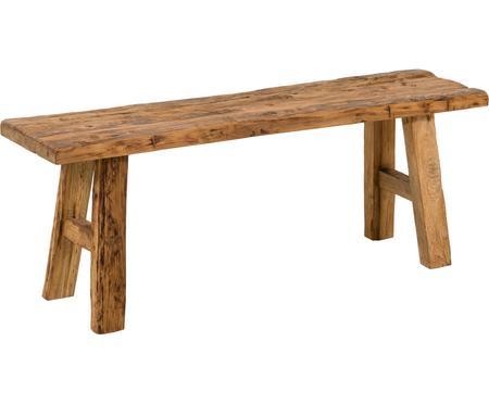 Ławka z litego drewna tekowego Decorative