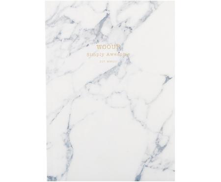 Notatnik White Marble