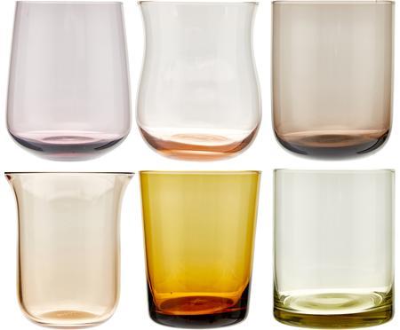 Komplet szklanek do wody ze szkła dmuchanego Desigual, 6elem.