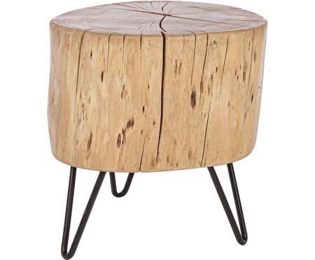 Stolik pomocniczy z drewna akacjowego Arthur