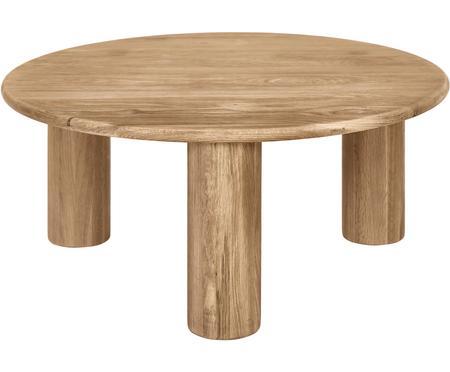 Stolik kawowy z drewna dębowego Didi