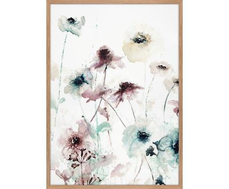 Oprawiony druk na płótnie Flower Dance