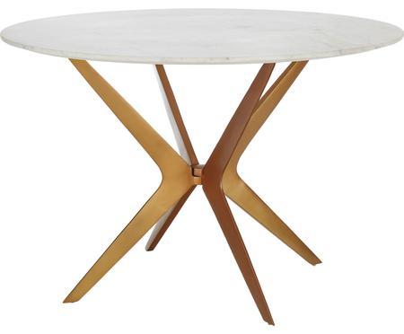 Okrągły stół do jadalni z marmuru Safia
