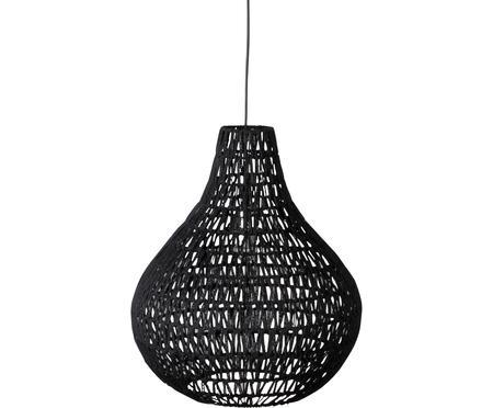 Lampa wisząca z tkaniny Cable Drop