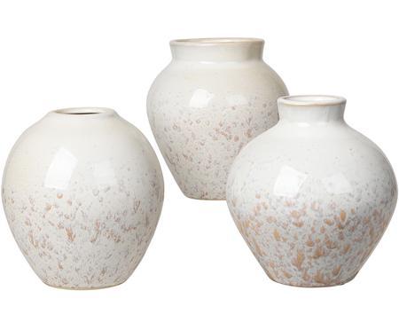 Komplet wazonów z ceramiki Ingrid, 3 elem.