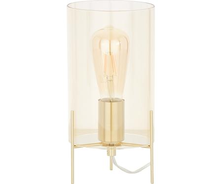 Mała lampa stołowa ze szkła Laurel