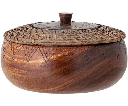 Duża miska z drewna akcjowego Femke