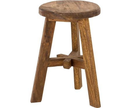 Stołek z drewna tekowego Dingklik