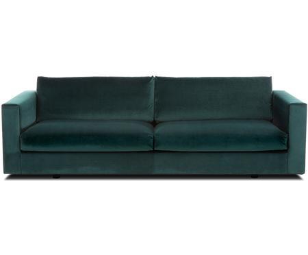 Sofa z aksamitu Balmira (3-osobowa)