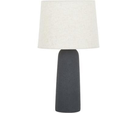 Duża lampa stołowa z betonową podstawą Kaya