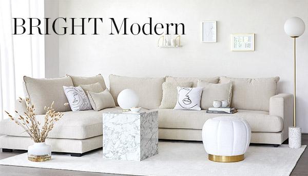 Bright modern