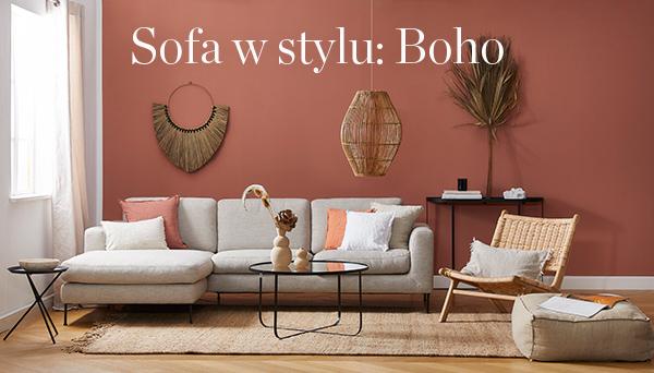 Sofa w stylu Boho