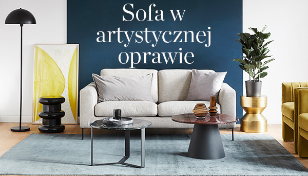 Artystyczna sofa