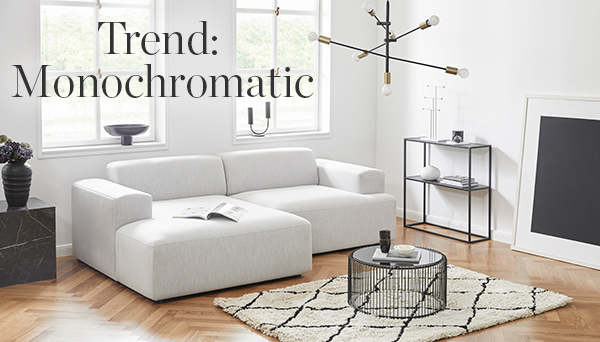 Trend: Monochromatic