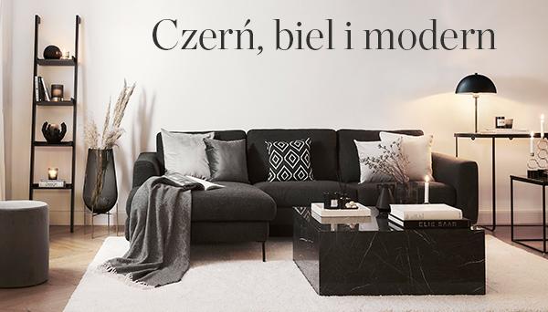 Czerń, biel i modern