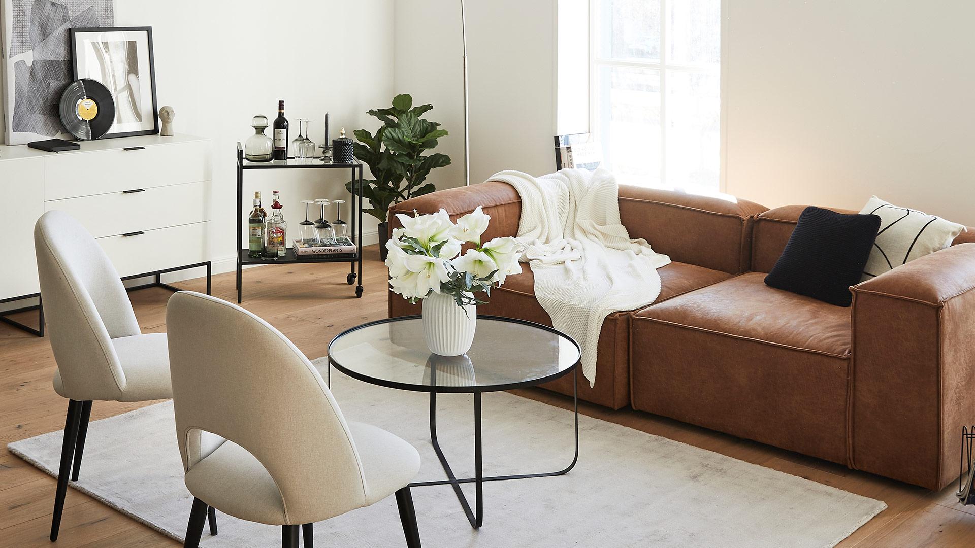 Trend: skórzana sofa