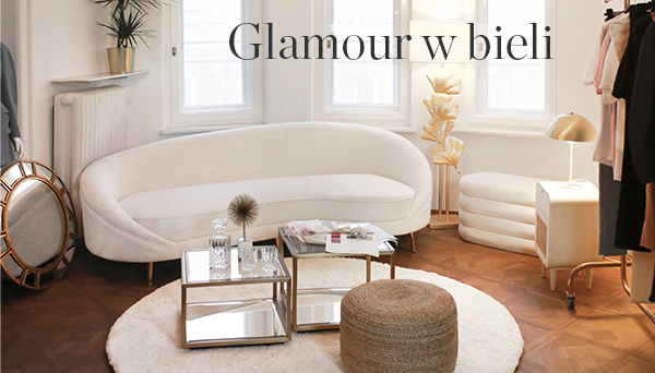 Glamour w bieli